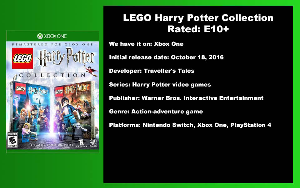 W-Description - Lego Harry Potter Collec