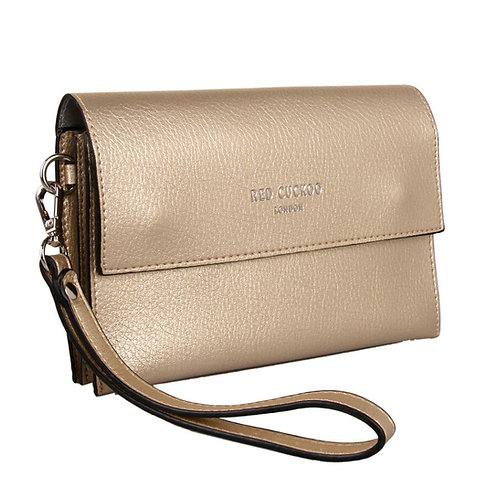 Small Gold Cross Body Bag