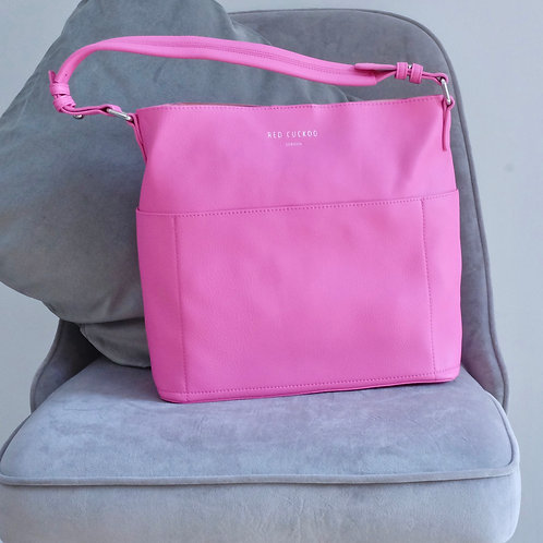Bright Pink Tote Bag (End of Line)