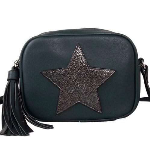 Green Star Cross Body Bag
