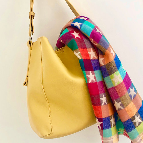 Bright Yellow Tote Bag (End of Line)
