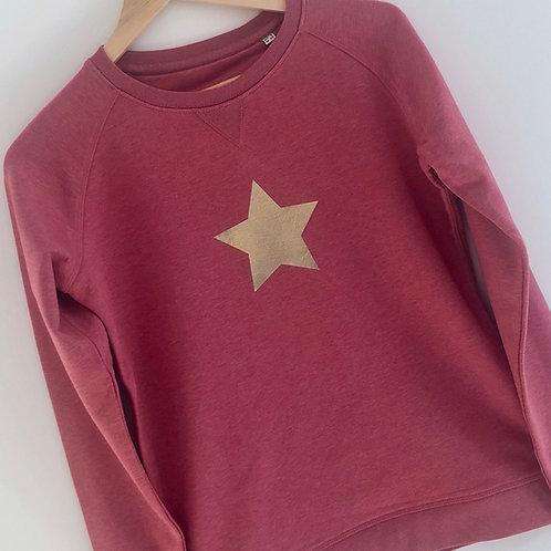 Cranberry Star Sweatshirt