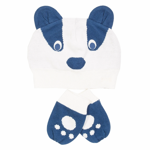 Badger Hat and Mitts - Kite