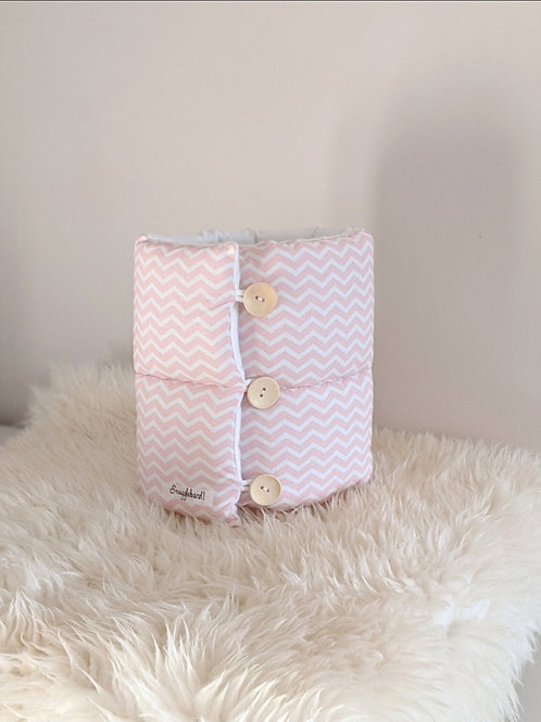 Pink Chevron - Snuggleband Feeding Pillow