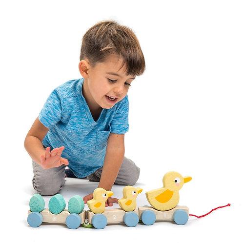 Pull Along Ducks - Tender Leaf Toys