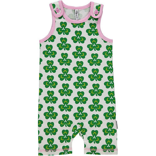 Playsuit Short - CLOVER - Maxomorra