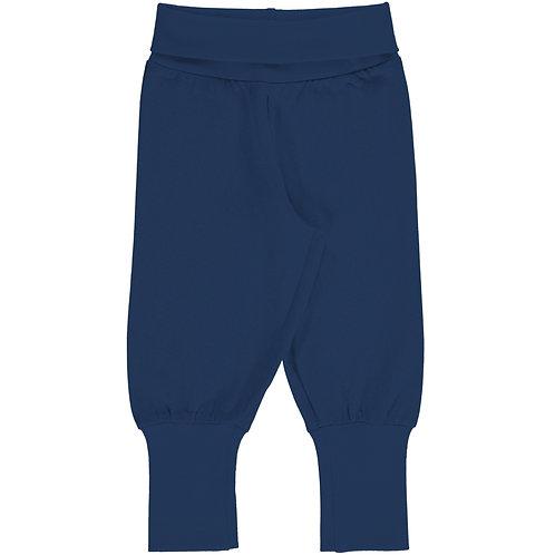 Pants Rib - SOLID NAVY - Maxomorra