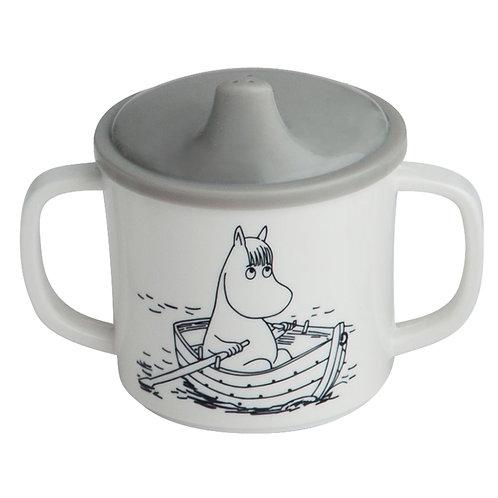Moomin Non-spill Cup - Grey - Rätt Start
