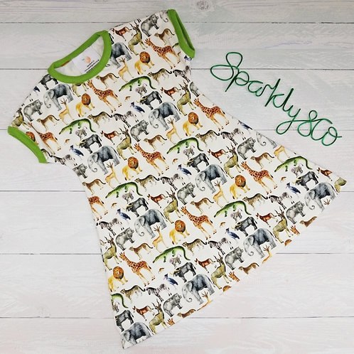Beachcomber Dress - SAFARI - Sparkly & Co