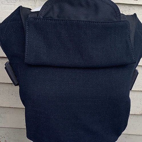 Integra Baby Size 1 - Black Textured Linen