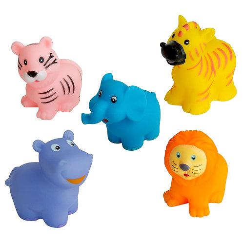 Animal Family - Bath Toy Set of 5 - Rätt Start