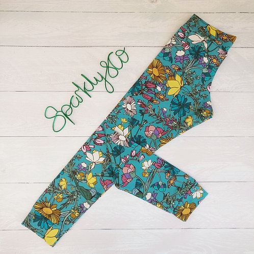 Relaxed Leggings - WILDFLOWER - Sparkly & Co