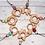 Thumbnail: Wooden Pendant - Flower (various colours)