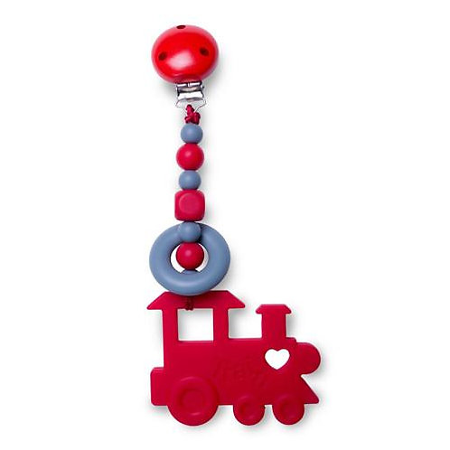 Choo Chew Clippable Teething Toy - Red