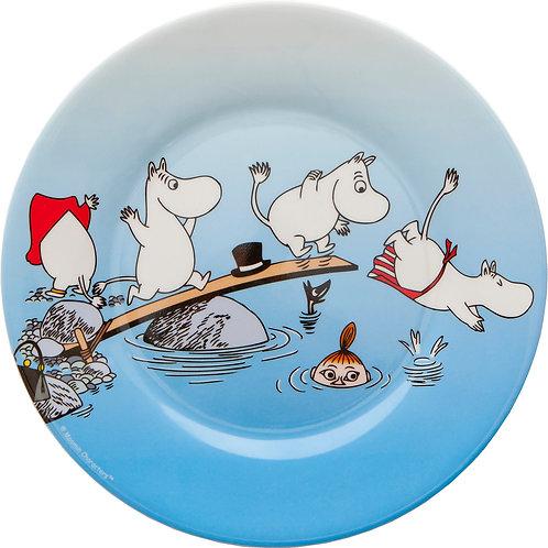 Plate -  Moomin Archipelago - Rätt Start