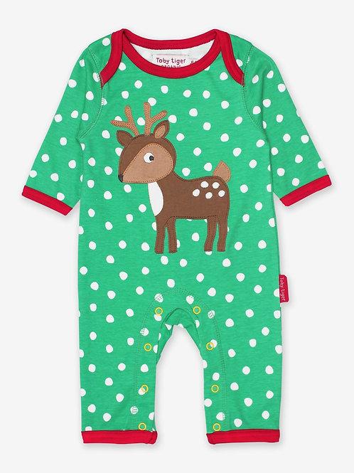 Reindeer Sleepsuit - Toby Tiger