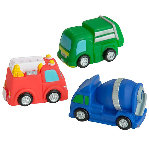 Cars - Bath Toy Set of 3 - Rätt Start