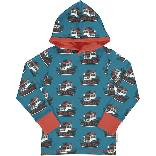 Top LS Hooded - TUGBOAT - Maxomorra