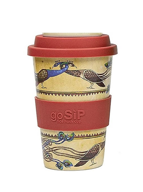 Peacocks - GoSIP 14oz Rice Husk Coffee Cup
