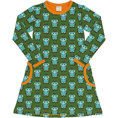 Dress LS - ROBOT - Maxomorra