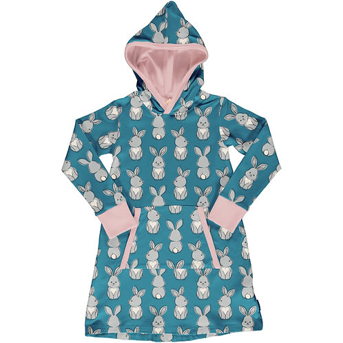 Dress Hoodie Sweat - RABBIT - Maxomorra