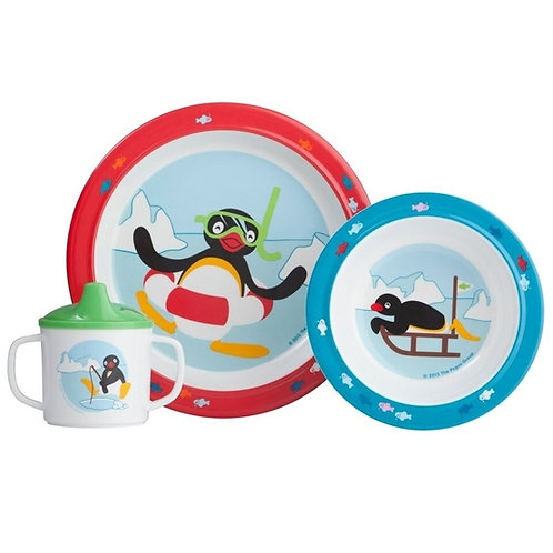 Pingu 3pc Dinner Set - Rätt Start