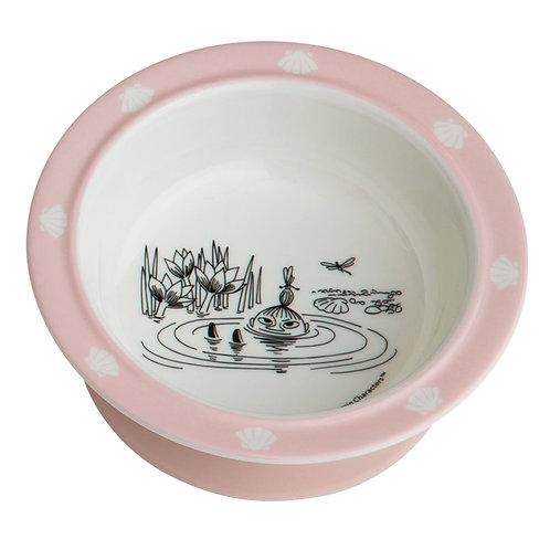 Moomin Suction Bowl - Rose - Rätt Start