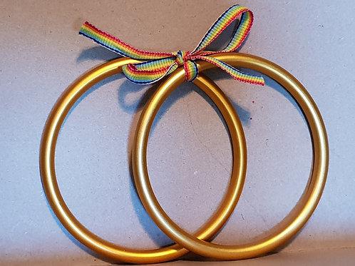 Large Sling Rings - Orange
