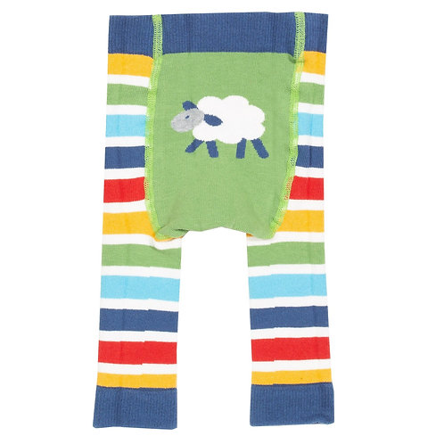 Sheepy Knit Leggings - Kite