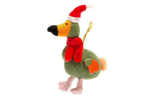 Dodo - Knitted Christmas Decoration - Pebble Toys