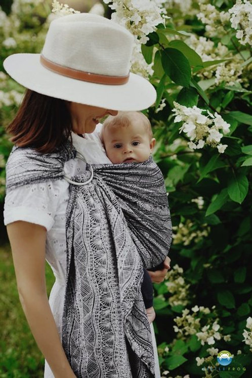 Carbon Harmony Ring Sling M - Little Frog
