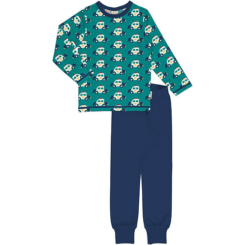 Pyjama Set LS - POLICE CAR - Maxomorra