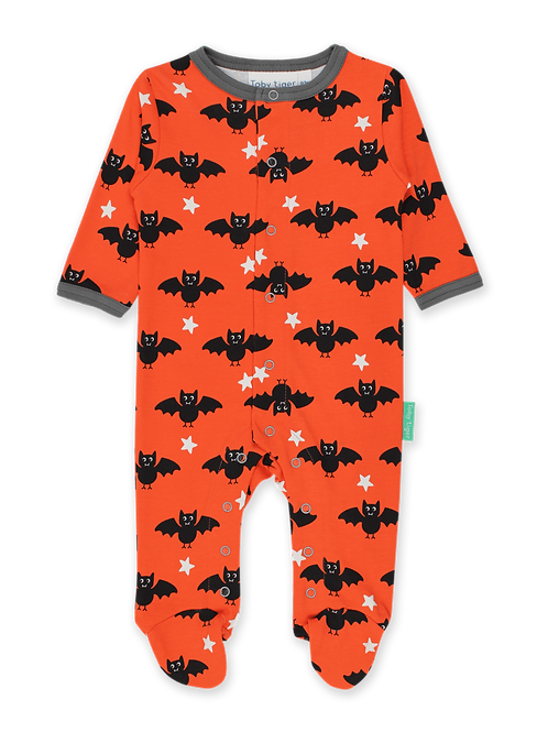 Bat Print Sleepsuit - Toby Tiger