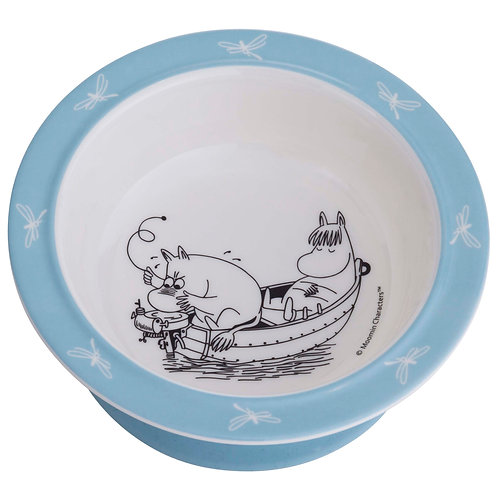 Moomin Suction Bowl - Turquoise - Rätt Start