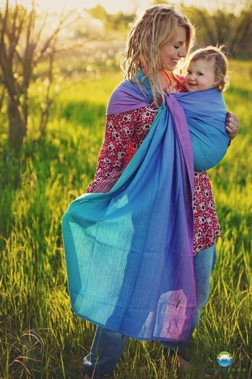 Icy Iolite Ring Sling M - Little Frog