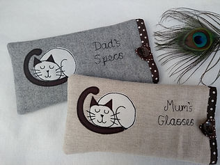 cat glasses case siamese