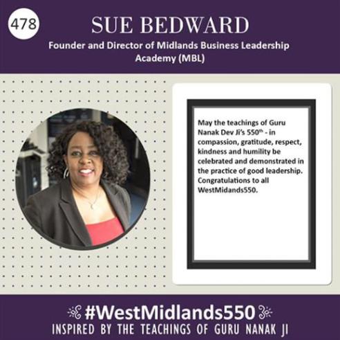 MBL Academy - Gurpurab 550 - Sue Bedward