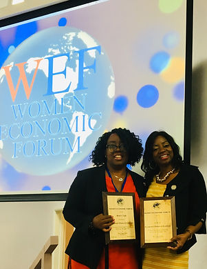 WEF - Women of Excellence Award Winners 2019 - Sue and Jenny Bedward