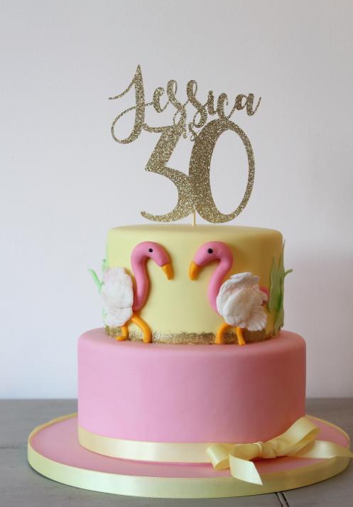 Kiss Me Cupcakes - 30th Birthday Cake