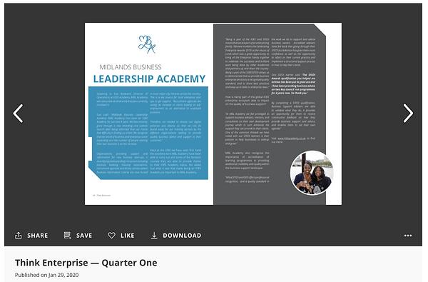 MBL Academy - Think Enterprise