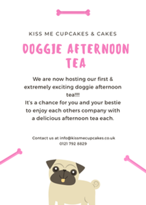 Kiss Me Cupcakes - Doggie Afternoon Tea