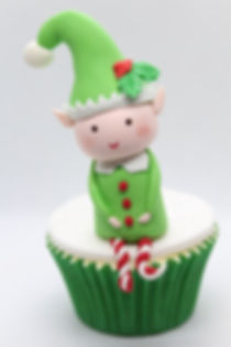 Kiss Me Cupcakes - Christmas Novelty Cupcake