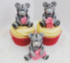 Kiss Me Cupcakes - Teddy Bear Cupcakes