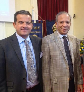 Incontro con Presidente Internazionale Ravindran