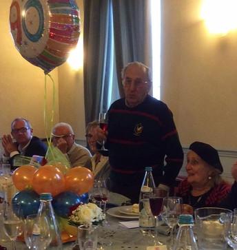 I 90 anni di un grande Rotariano: Giuseppe PINO Capone
