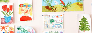 Kids' Paintings share artwork