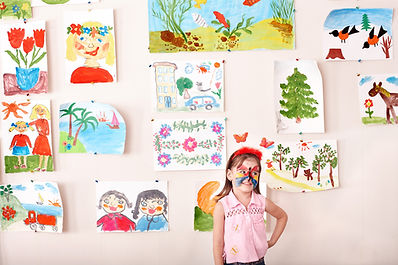 Pinturas de niños