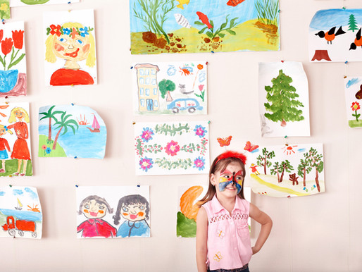 Ask Jes: How do I pare down my kid's artwork?