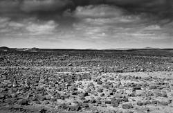 Desert de pierres