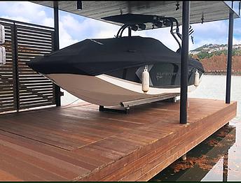 VML hydraulic boat platform lift